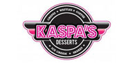 10% off all desserts at Kaspas Logo