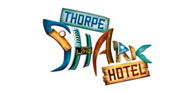 Up to 20% off your stay at THORPE SHARK Hotel Logo