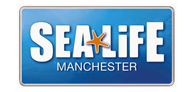 Up to 40% entry to SEA LIFE Manchester Logo