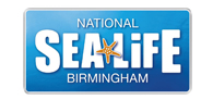 Up to 35% off entry to SEA LIFE Birmingham Logo